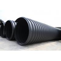 市政钢带排污管-市政钢带排污波纹管-PE市政钢带排污管