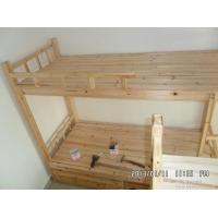 供应深圳木床-双层实木床-上下铺杉木床