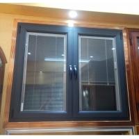 汉狮jiasim中空玻璃内置智能电动百叶系统高端别墅门窗