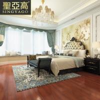 圣亚高 仿古木纹地砖150 600卧室客厅仿实木瓷砖 瑞典橡
