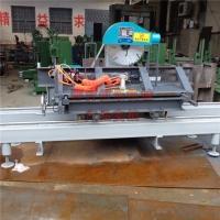 全自动圆木推台锯   木工机械推台锯   恒乐厂家