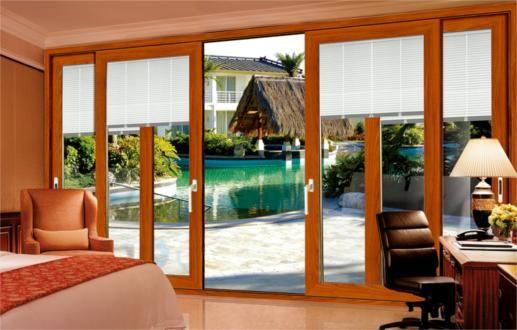 中高端铝合金门窗 铝合金重型推拉门