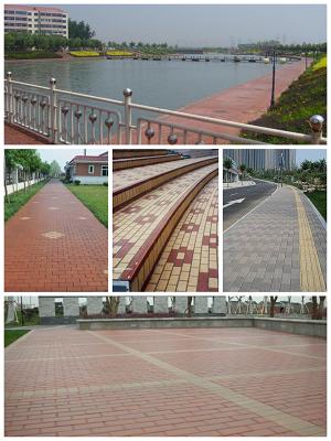湖南湘潭江西劈开砖、透水砖,烧结砖.陶瓷透水砖