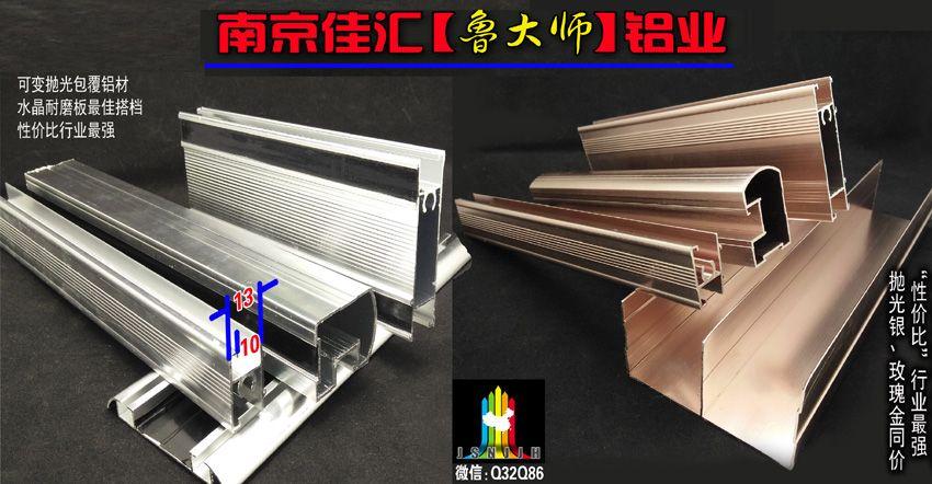 龙8国际官方网站铝业【鲁大师】包覆铝型材