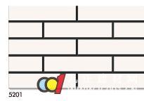 成都鹰山陶瓷 鹰山釉面砖 5201 52x235mm