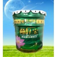 广东防水材料厂家供应自洁型荷叶外墙漆