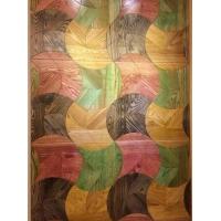 酸枝多彩拼花地板 多层实木复合地板 艺术木地板