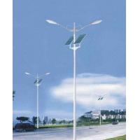 郑州光华灯具6米30W双臂太阳能路灯led灯头