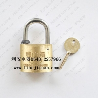 30MM35MM40MM十字铜锁