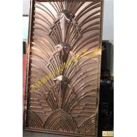 偉煌業金色不銹鋼時尚家具金屬門