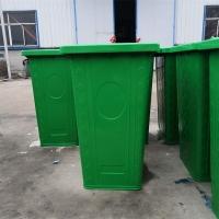 240L镀锌板挂车垃圾桶