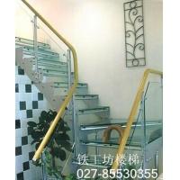 玻璃楼梯扶手|黄冈4S店玻璃楼梯|玻璃扶手|武汉楼梯