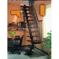 武汉铁工坊销售异形钢木楼梯|左右左楼梯图