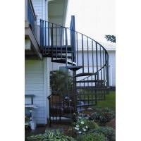 露天旋转铁艺楼梯扶手设计要求|仙桃铁艺楼梯扶手|湖北制造