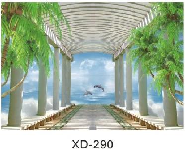 世居宝竹木纤维背景墙现代简约系列