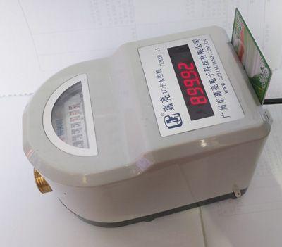 一体IC卡水控机、智能热水表、一表一卡热水表