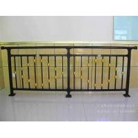 博盾锌钢/铝合金栅栏组装式阳台护栏欧式黑底花款专业定制