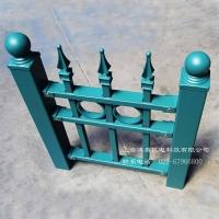 博盾铝合金锌钢护栏花园围栏栅栏小区围栏铁艺欧式护栏景蓝款