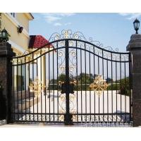 铁艺门,适用于花园铁艺门,庭院铁艺门,简洁欧式铁艺门,可定制