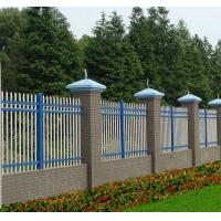 锌钢护栏市政围墙铁艺栅栏围栏别墅小区庭院花园工厂隔离栏杆HX