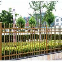 博盾围墙护栏适用于小区学校花园栏杆栅栏锌钢护栏金色HX-3-