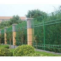 锌钢护栏防爬栏杆工厂小区围栏别墅庭院围墙学校林园栅栏HX-5