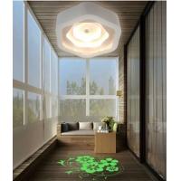 新款LED三层光环投影过道玄关阳台吸顶灯