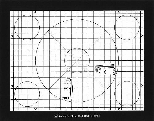 影像检测测试卡EIAJ test chart I