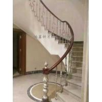汕头铁艺楼梯扶手、欧式楼梯、旋转楼梯