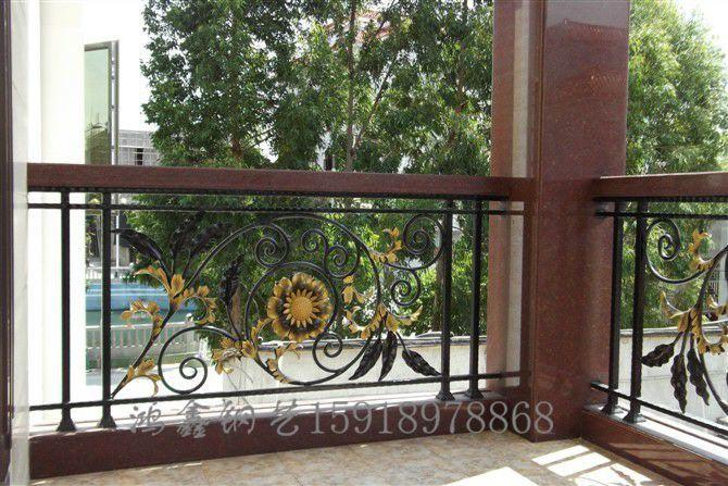 大连铁艺别墅别墅,护栏阳台,欧式护栏v铁艺绿谷护栏汕头图片