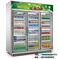 饮料啤酒展示冷藏柜|三门节能冷柜制冷与保鲜机理