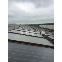 卓奥平板太阳能热水工程 平板集热器特点