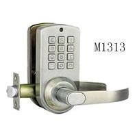 密码智能门锁(不锈钢)