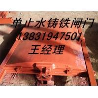 广州惠城区0.8米*0.8米渠道进水口铸铁闸门