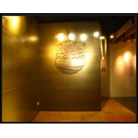木丝饰面板 办公室墙面装修 地板 大型展览馆 内外墙装修