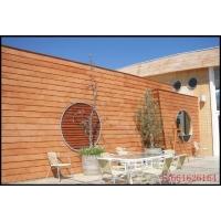 绿活企口木纹板绿活混凝土板木纹水泥板别墅装饰板防火A级
