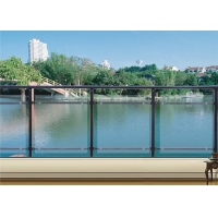 华禹锌钢玻璃阳台护栏
