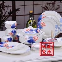 酒店陶瓷餐具 酒店陶瓷餐具定做