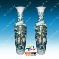 乔迁客厅装饰陶瓷大花瓶 庆典活动摆件大花瓶