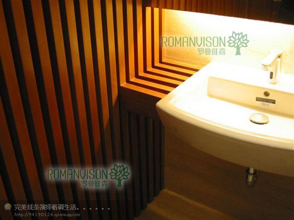 罗曼维森生态木卫生间