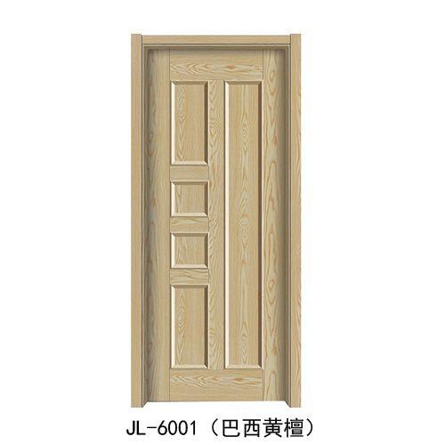金临门业-韩式拼接门系列JL-6001(巴西黄檀)