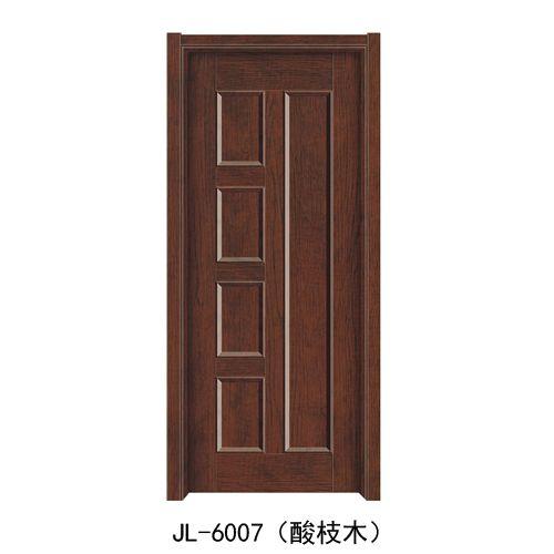 金临门业-韩式拼接门系列JL-6007(酸枝木)