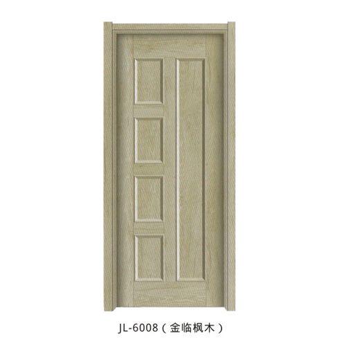 金临门业-韩式拼接门系列JL-6008(金临枫木)