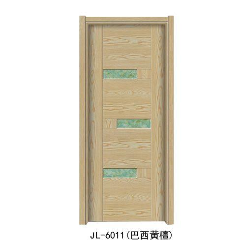 金临门业-韩式拼接门系列JL-6011(巴西黄檀)