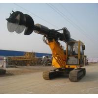 山东一工最新高效率小型旋挖机