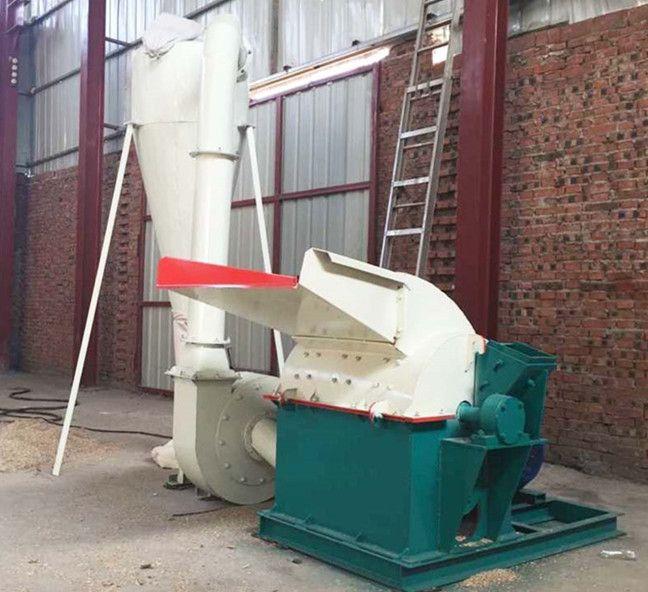 树皮专用粉碎机 新型移动式锯末机 干湿两用木粉机价格