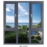 富豪50平开断桥折叠窗   广东折叠窗   丽缘门窗
