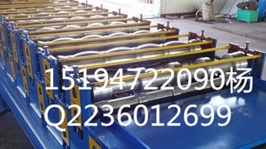 琉璃瓦压瓦机 彩涂板设备压瓦机  彩钢机械