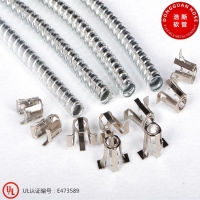 适用于灯具金属软管XRW系列 镀锌软管5/16