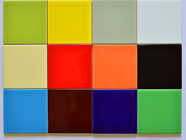 内墙彩色瓷砖 10x10纯色瓷片